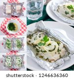 collage of step by step cooking ...