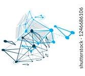 abstract vector background ... | Shutterstock .eps vector #1246686106