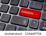 solution concepts  a message on ...   Shutterstock . vector #124669756