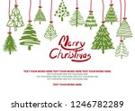 background design for christmas ... | Shutterstock .eps vector #1246782289