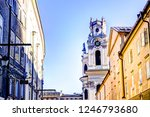 spires and domes of churches in ... | Shutterstock . vector #1246793680