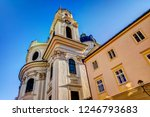 spires and domes of churches in ... | Shutterstock . vector #1246793683