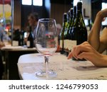 wine glass wit hands and...   Shutterstock . vector #1246799053