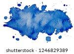 art logo brush painted... | Shutterstock . vector #1246829389