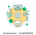 biodiversity concept icon.... | Shutterstock .eps vector #1246838956