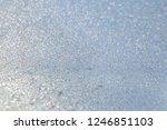 ice snow texture frozen window... | Shutterstock . vector #1246851103