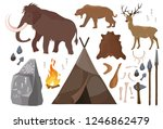 vector illustration of set of... | Shutterstock .eps vector #1246862479