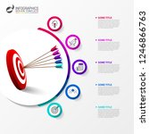 infographic design template.... | Shutterstock .eps vector #1246866763
