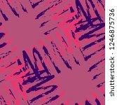 Irregular Scribble Pattern....
