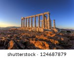 Poseidon Temple  Cape Sounion ...