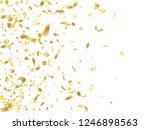 gold on white foil holiday... | Shutterstock .eps vector #1246898563