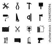 simple construction icons set....