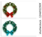 christmas  new year. business... | Shutterstock .eps vector #1246922509