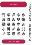 vector icons pack of 25 filled...   Shutterstock .eps vector #1246929280