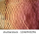 texture of genuine leather ... | Shutterstock . vector #1246943296