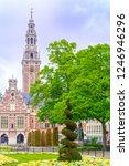 leuven  belgium  neo... | Shutterstock . vector #1246946296
