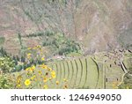 landscape in the sacred valley... | Shutterstock . vector #1246949050
