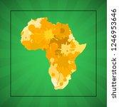 sketch blot dotty african...   Shutterstock . vector #1246953646