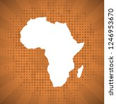 sketch blot dotty african...   Shutterstock . vector #1246953670
