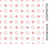 seamless pattern with buttons.... | Shutterstock .eps vector #1246956733
