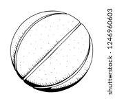 basketball vector illustration.   Shutterstock .eps vector #1246960603