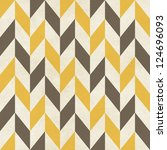 seamless geometric chevron... | Shutterstock . vector #124696093