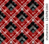 tartan seamless pattern... | Shutterstock .eps vector #1246961860