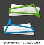 vector graphic design banner... | Shutterstock .eps vector #1246974256