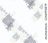 grunge seamless grid. abstract... | Shutterstock .eps vector #1246993879