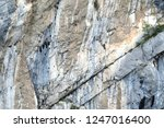close up dolomite rock or... | Shutterstock . vector #1247016400