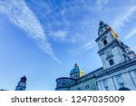 spires of the cathedrals of... | Shutterstock . vector #1247035009