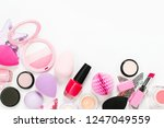 set of beauty accessory and... | Shutterstock . vector #1247049559