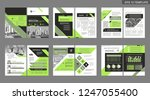 brochure creative design.... | Shutterstock .eps vector #1247055400
