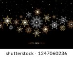 happy new year and merry... | Shutterstock .eps vector #1247060236