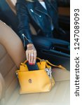 photo of woman with bag and... | Shutterstock . vector #1247089093