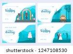 wedding day brochure card set....