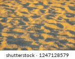 sand texture before sunset | Shutterstock . vector #1247128579
