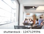 abstract blur office background ... | Shutterstock . vector #1247129596