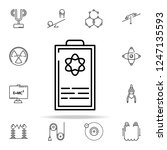 formula icon. physics icons... | Shutterstock .eps vector #1247135593