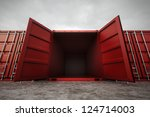 Picture Of Red Open Containers...