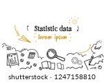 financial analysis statistic... | Shutterstock .eps vector #1247158810