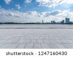 panoramic skyline and modern... | Shutterstock . vector #1247160430