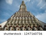 wat arun or temple of dawn is... | Shutterstock . vector #1247160736