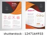 template vector design for... | Shutterstock .eps vector #1247164933