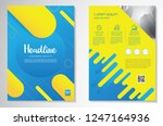 template vector design for... | Shutterstock .eps vector #1247164936