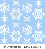 blue abstract seamless pattern... | Shutterstock .eps vector #1247165146