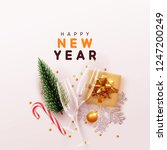 happy new year modern... | Shutterstock .eps vector #1247200249