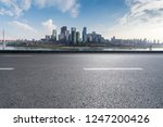 panoramic skyline and buildings ... | Shutterstock . vector #1247200426