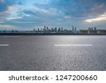 panoramic skyline and buildings ... | Shutterstock . vector #1247200660