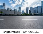 panoramic skyline and buildings ... | Shutterstock . vector #1247200663